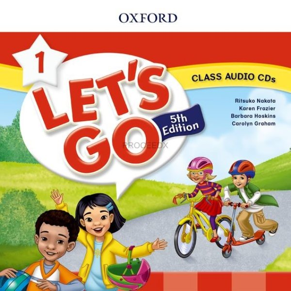 画像1: Let's Go: 5th Edition Level 1 Class Audio CDs (2) (1)