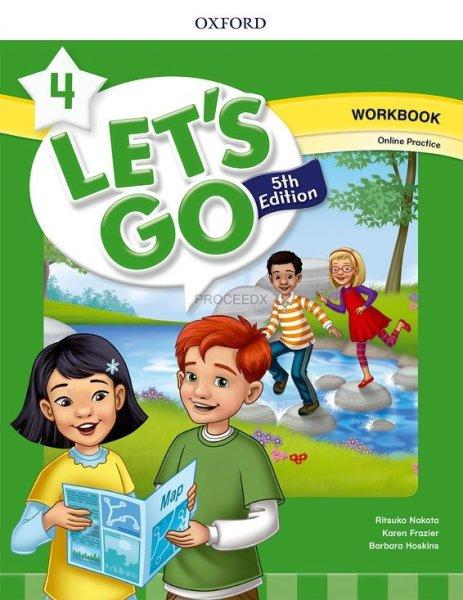 画像1: Let's Go: 5th Edition Level 4 Workbook with Online Practice (1)