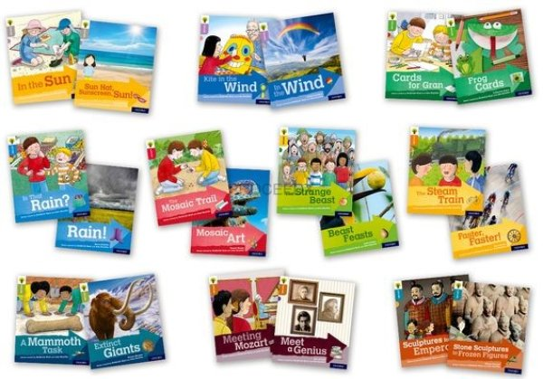 画像1: Oxford Reading Tree - Explore with Biff, Chip and Kipper  Levels 1 to 9 Singles Pack (1)