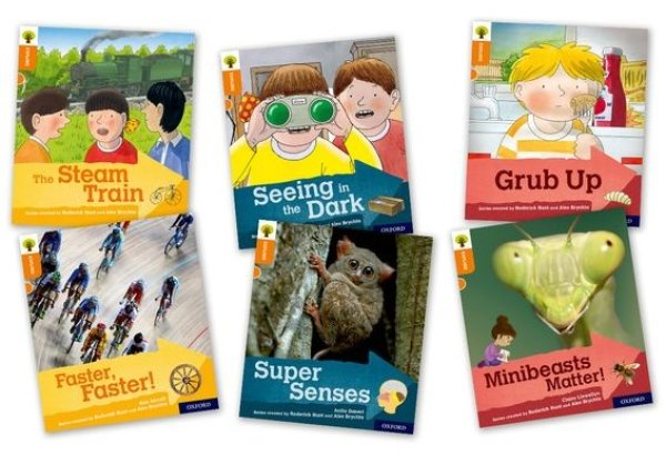 画像1: Oxford Reading Tree - Explore with Biff, Chip and Kipper  Oxford Level 6 Mixed Pack of 6 (1)