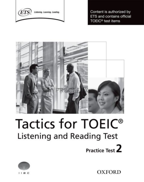 画像1: Tactics for TOEIC Listening and Reading Test  Practice Test 2-9780194529563 (1)