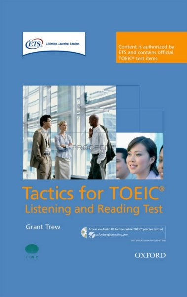 画像1: Tactics for TOEIC Listening and Reading Test  Pack-9780194529594 (1)