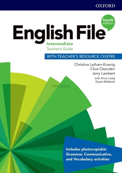 画像1: English File: 4th Edition Upper-Intermediate Teacher's Guide with Teacher's Resource Centre (1)