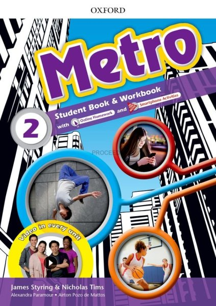 画像1: Metro Level 2 Student Book and Workbook Pack (1)