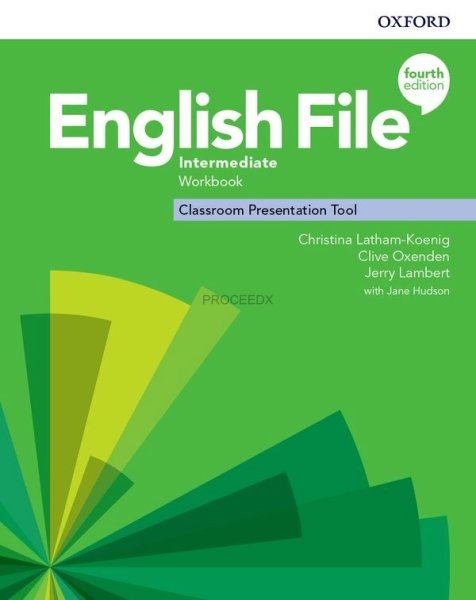 画像1: English File: 4th Edition Intermediate Classroom Presentation Tool Workbook Access Code (1)