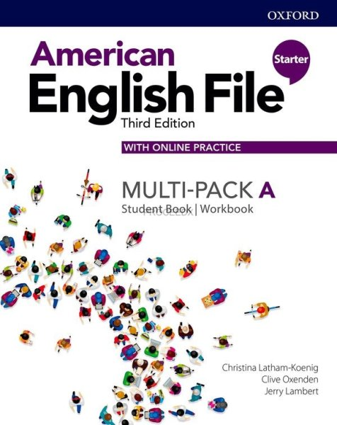 画像1: American English File: 3rd Edition Starter Student Book/Workbook Multi-Pack A with Online Practice (1)