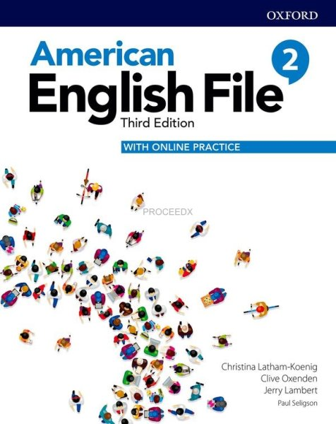 画像1: American English File: 3rd Edition Level 2 Student Book With Online Practice (1)