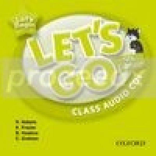 画像1: Let's Go : Fourth Edition Level 4 Class Audio CDs-9780194643399 (1)