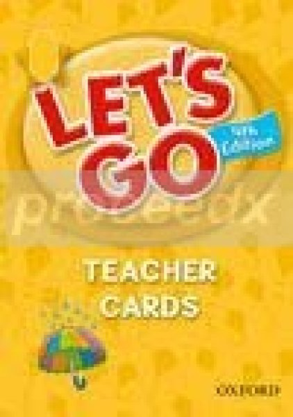 画像1: Let's Go : Fourth Edition Let's Begin Teacher Cards-9780194641548 (1)
