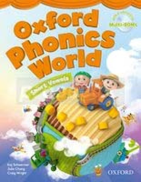 画像1: Oxford Phonics World Level 2 Phonics Cards-9780194596343 (1)