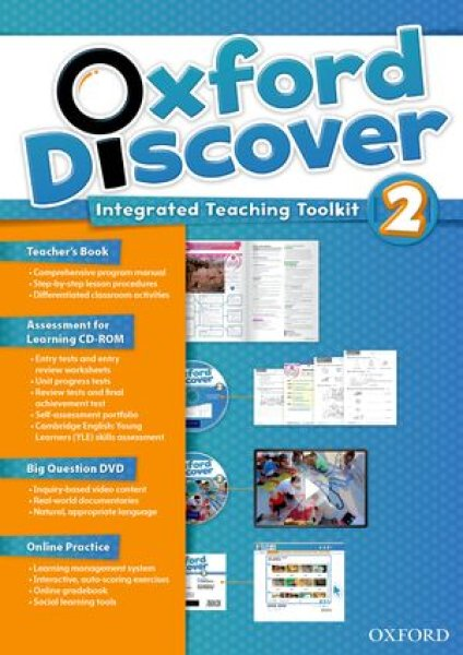 画像1: Oxford DiscoverLevel 2Teacher's Book with Online Practice-9780194278164 (1)