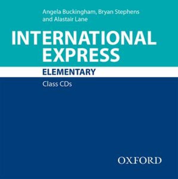 画像1: International ExpressElementaryClass Audio CD (1)-9780194597500 (1)