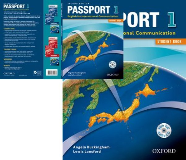 画像1: Passport 2nd Edition Level 1 Student Book with CD-9780194718165 (1)