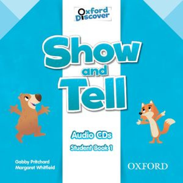 画像1: Oxford Show and TellLevel 1Class Audio CDs-9780194779067 (1)